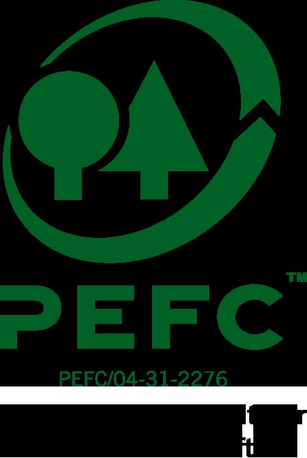 Ausgezeichnet mit dem PEFC-Gütesiegel.